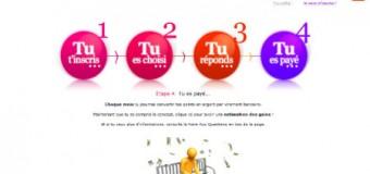 Sondageo : nouveaux site de sondage rémunéré