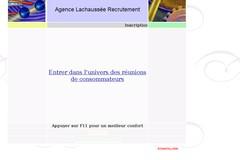 Agence-lachausse.fr : réunions de consommateurs en région parisienne.