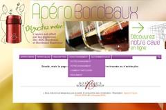 Apero-Bordeaux.fr : test alimentaire de vin de bordeaux