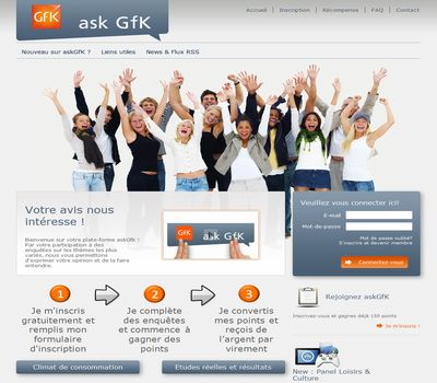Askgfk france remplace le site surveys.com