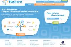 Blog4Ever.com : plateforme d'hébergement de blog gratuit blog4ever