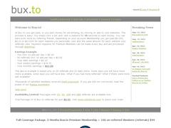 Bux.to rémunère pour cliquer sur leurs publicités.