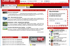Center-Blog.net : plate-forme de blog gratuit.