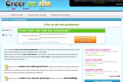 Creer-un-Site.fr : les différents moyens de créer un site sur internet.