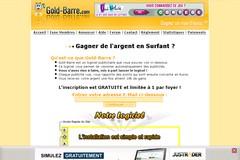 Gold-barre.com : site francophone numéro 1 des barres rémunérées.