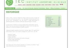 IEC France est in institut de recherche cosmétique à Lyon