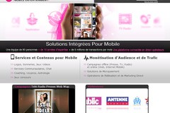 Media plazza : contenu pour mobile en marque blanche.