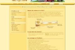 Pack-Barre.com : avis et commentaires sur Pack barre.