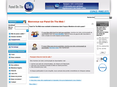 sondage et panel on the web