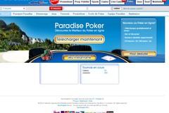 Paradise-Poker.com : bonus de bienvenue de 500 euros sur paradise poker.