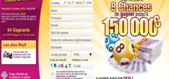Sky8.com, la loterie gratuite qui remplace 9 sur 49