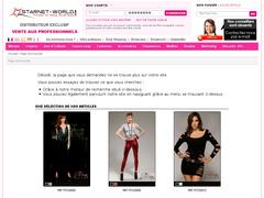 Starnet World : le drop shipping de lingerie.