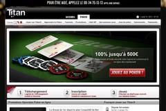 Titan-Poker.com ; profitez du bonus de 100 % de titan poker.
