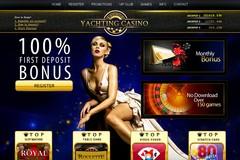 Yachting-Casino.com double votre premier dépot sous forme de bonus.