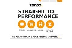 Zanox.com : la régie publicitaire zanox.