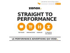 affiliation européenne sur zanox