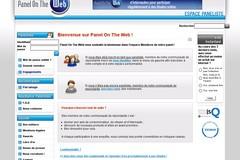 Panel-on-the-Web.com : panels de sondages rémunérés en ligne.